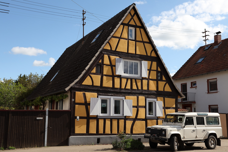 Fachwerkhaus in Weingarten