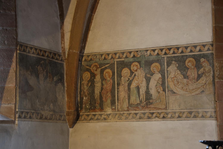 Fresken 14.Jh. Kapelle der Beguinen