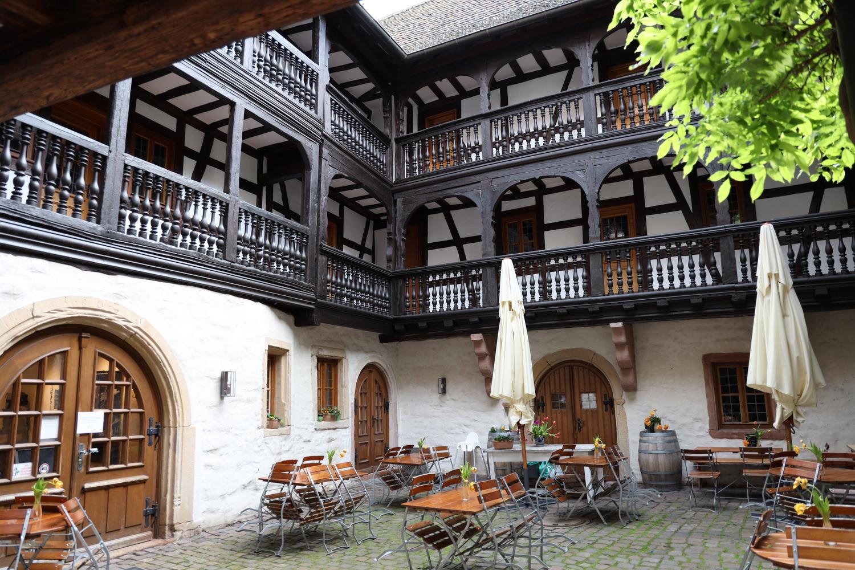 Innenhof Frank-Loeb'sche Haus