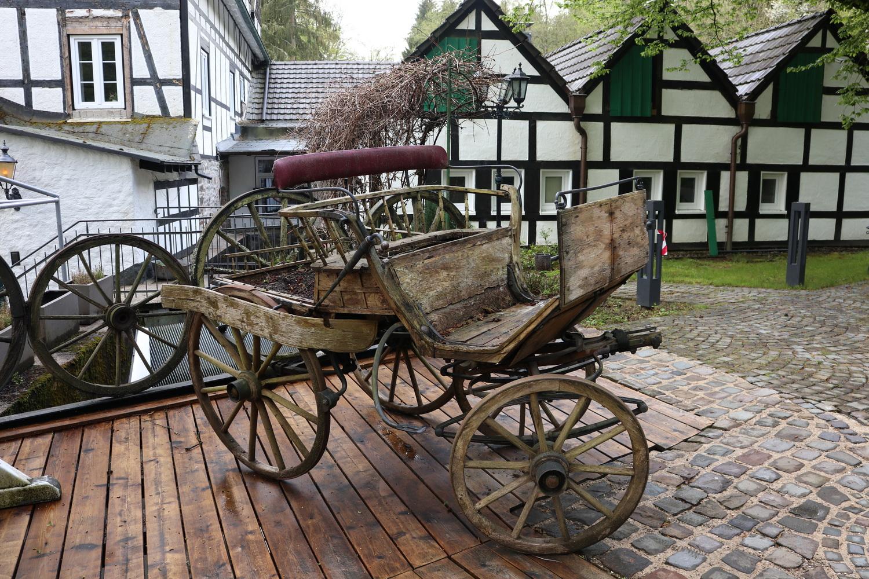 Alte Kutsche an der Holsteinmühle