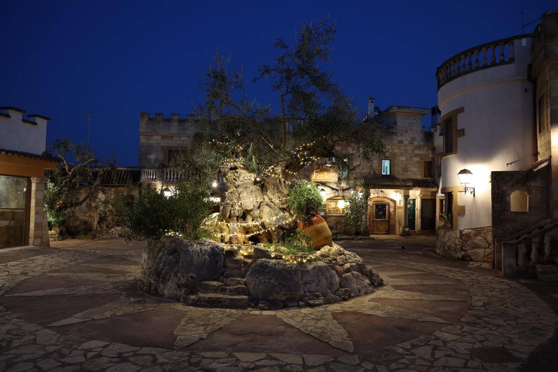 Piazza Felicita in der Tenute Al Bano