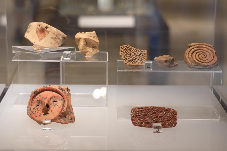 Fundstücke aus der Neusteinzeit 6.-4. Jahrtausend v.Chr.
