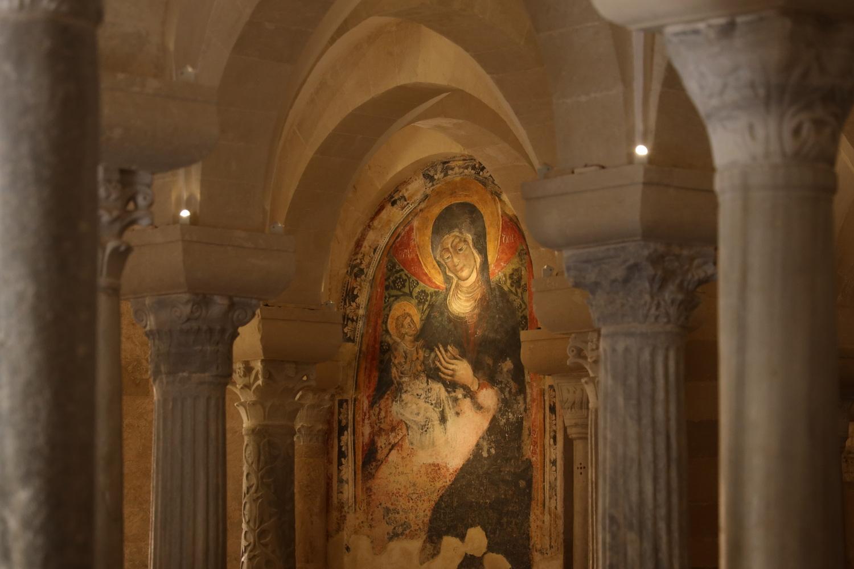 Otranto- In der Krypta unter der Kathedrale Santa Annunziata