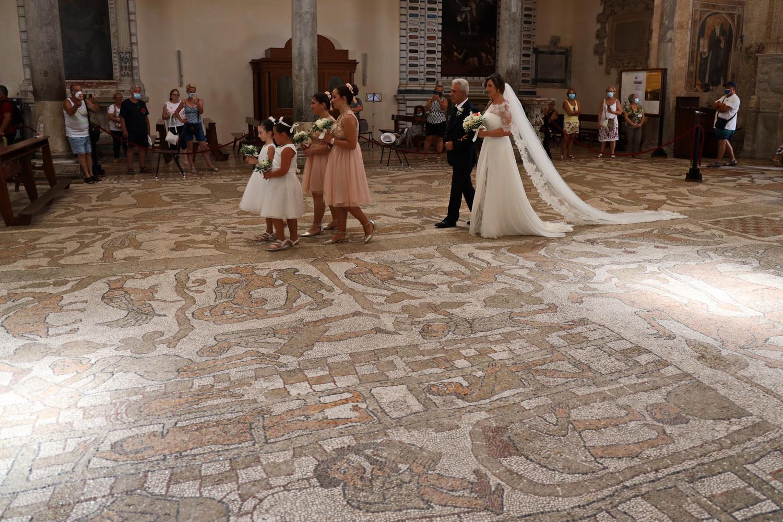 Hochzeitsmarsch auf historischem Boden
