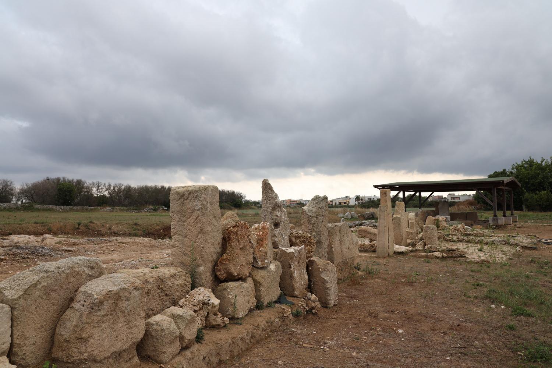 Muro Leccese- Reste der messapischen Stadt