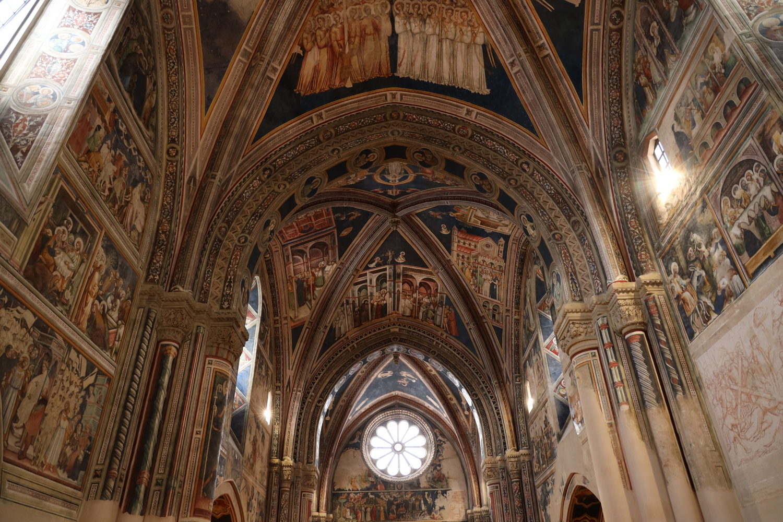 Freskenschatz in Santa Caterina d'Alessandria 15.Jh.