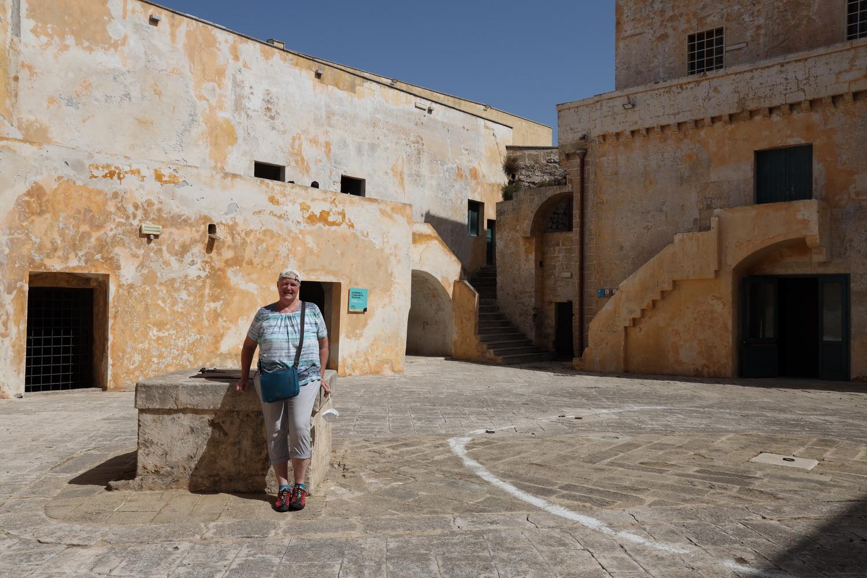 Innenhof Castello Gallipoli