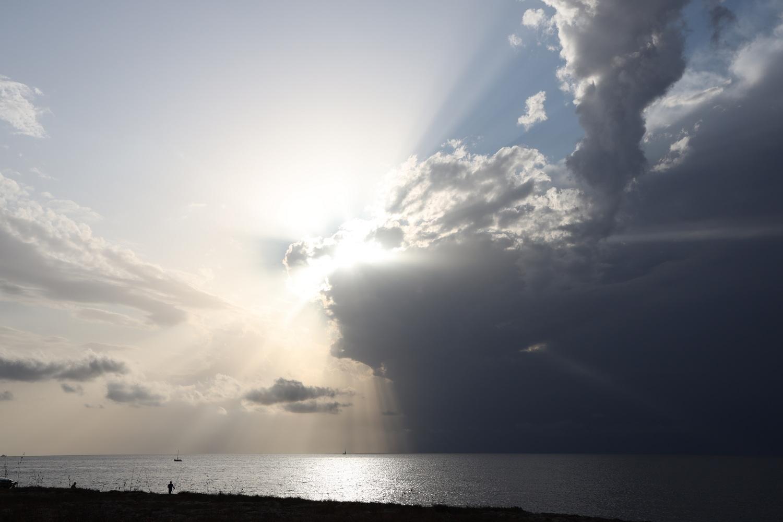 Gewitterstimmung an der Westküste bei Gallipoli