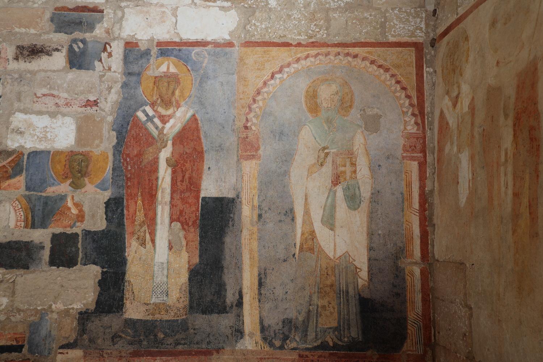 S.Maria di Cerrate- Fresken 12./13.Jh.