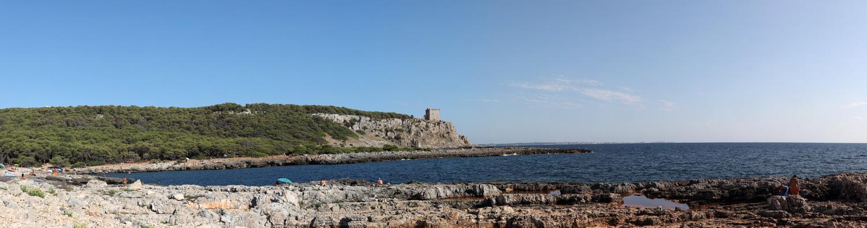 Küste am Torre dell'Alto