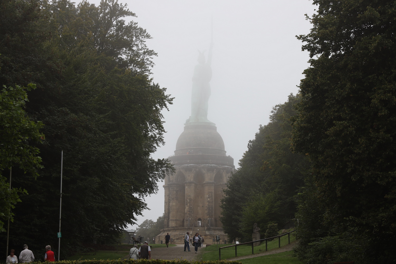 Hermann im Nebel