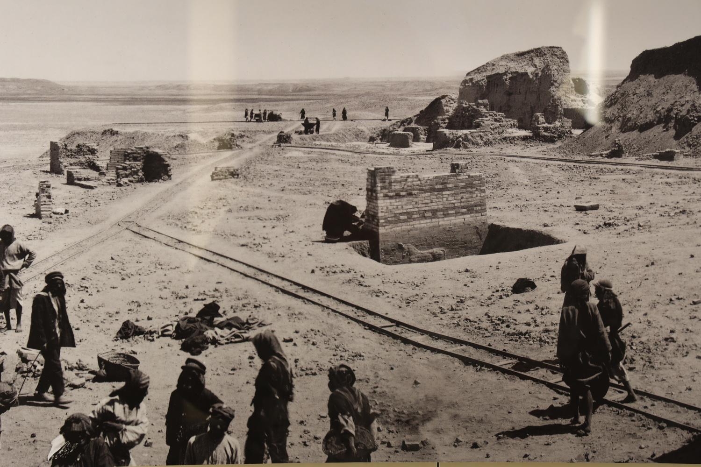 Ausgrabungsort des Ischtat-Tors- Babylon