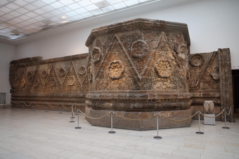 Palastmauer Mschatta (1.Hälfte 8.Jh.)